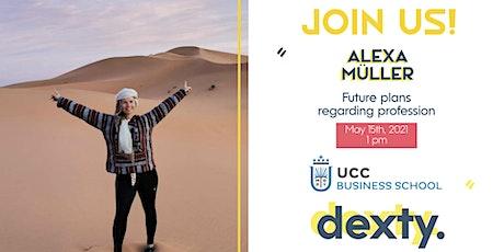 INTERNATIONAL CONVERSATION CLUB WITH ALEXA MÜLLER entradas
