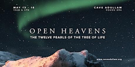 Open Heavens   Shavout 2021 tickets