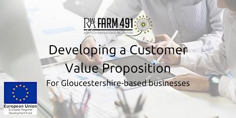 Online Workshop: Developing a Customer Value Proposition tickets