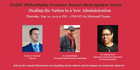 Bounce Back Speaker Series: Healing the Nation in a New Administration tickets