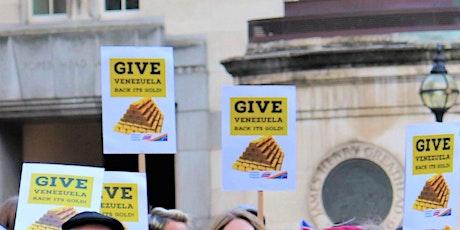 Venezuela: End Sanctions, Give Back the Gold boletos