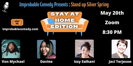 Stand Up Silver Spring:  Stay at Home Edition tickets