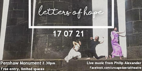 Letters of Hope - Uncaged Aerial Theatre tickets