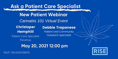 Cannabis 101 New and Existing Patient Webinar tickets