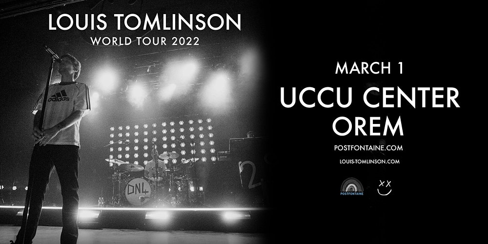 Utah Events Calendar 2022.Louis Tomlinson World Tour 2022 Tickets Orem Eventbrite