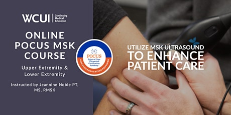 POCUS Musculoskeletal Ultrasound Course - Virtual tickets