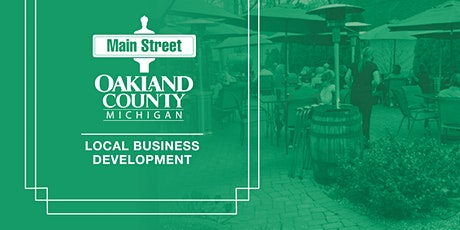 Main Street Oakland County Restaurant  Workshop tickets