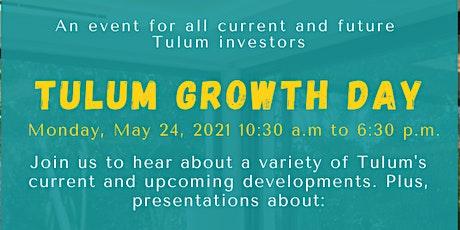Tulum Growth Day tickets
