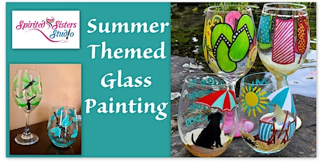 """""""GIRL'S NIGHT OUT""""  Cactus Taverna Wine Glass Painting & Wine Tasting tickets"""