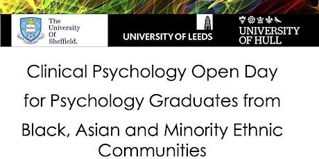 BAME Online Clinical Psychology Open Day - 23rd June 2021 9.00am - 12.30pm biglietti