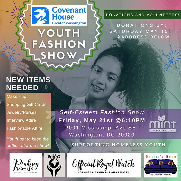 Youth Fashion Show!! -Supporting Homeless Youth image