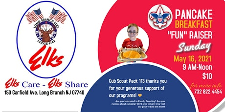 Pancake Breakfast at Long Branch Elks to Benefit Cub Scout Pack tickets