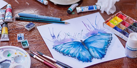 Watercolour 101 Workshop/Demo 水彩畫基本畫法簡介及示範 tickets