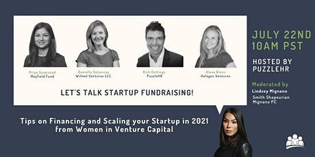 Financing and Scaling Your Startup in 2021: Tips from Women in VC tickets