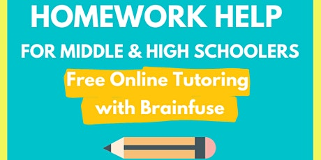 Homework Help: Using Free Online Tutoring with Brainfuse tickets