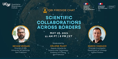 Scientific Collaborations Across Borders:  a QBI Fireside Chat Tickets