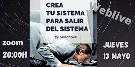 Emprendimiento: Crea un sistema para salir del sistema entradas