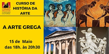 CURSO HISTÓRIA DA ARTE : A ARTE GREGA tickets