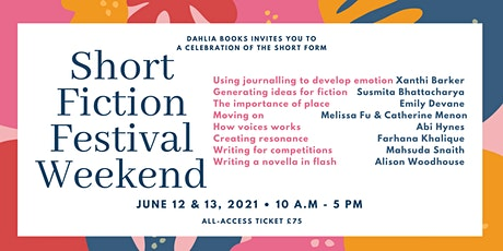 Short Fiction Festival Weekend tickets