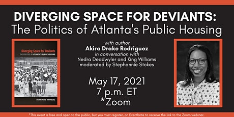"""Akira Drake Rodriguez presents her new book """" Diverging Space for Deviants"""" tickets"""