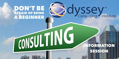 Odyssey Consulting Training Institute - Information Session. tickets