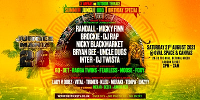 28 Years of Jungle Mania - Summer BBQ Birthday Special