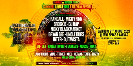 28 Years of Jungle Mania - Summer BBQ Birthday Special tickets