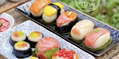 Ang Ku Kueh in Sushi Design tickets