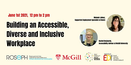 Building an Accessible, Diverse and Inclusive Workplace tickets