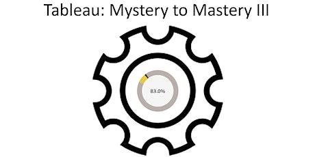 Tableau: Mystery to Mastery III (Virtual) tickets