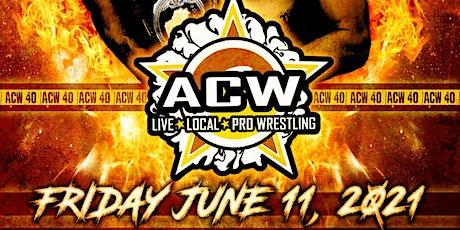 ACW 40 tickets