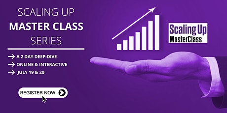 Scaling Up Masterclass tickets