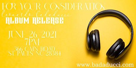Leonardo Badaducci Album Release Party tickets