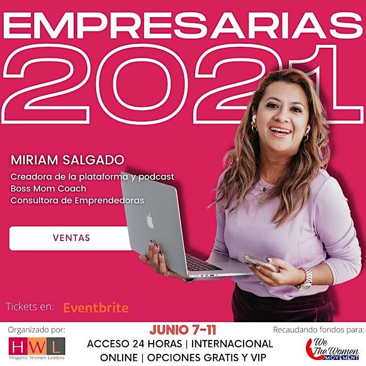 Imagen de EMPRESARIAS 2021 DIGITAL E INTERNACIONAL