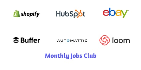 Grow Remote Jobs Club - May Meetup tickets