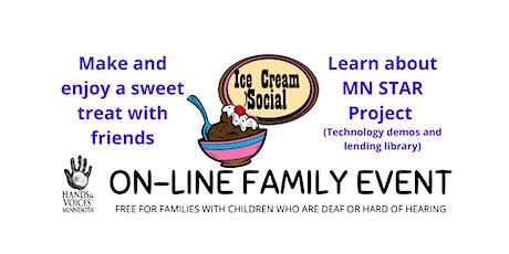 MNHV Family event online: Ice Cream Social tickets
