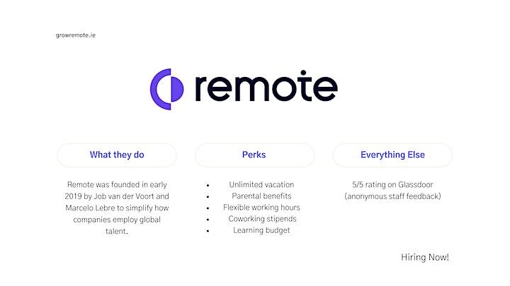 Grow Remote Jobs Club - May Meetup image
