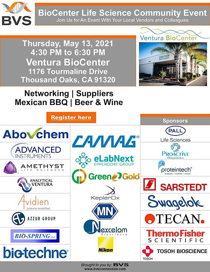 Outdoor Biotech Community Event at Ventura BioCenter image