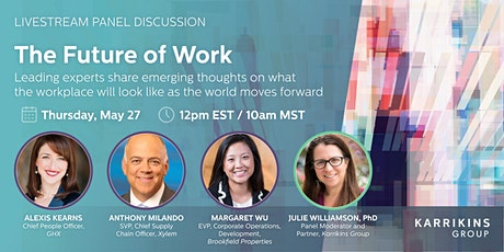 The Future of Work: A discussion of what comes next for place and space tickets