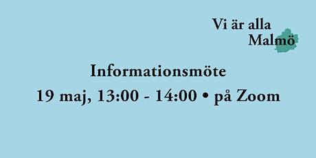 Informationsmöte om Vi är alla Malmö biljetter