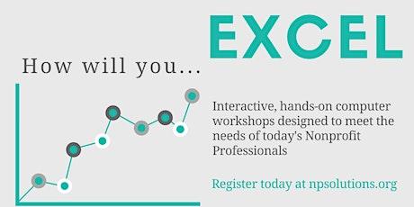 Microsoft Excel: Intermediate tickets