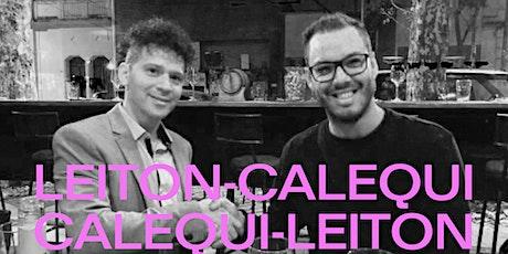 """Leiton-Calequi / Calequi-Leiton presentan: """"Grandes éxitos"""" entradas"""