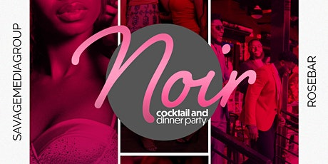 Noir Cocktail and Dinner Party tickets