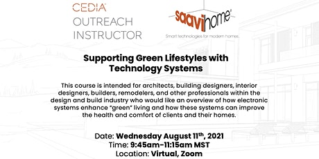 CEDIA COI: Supporting Green Lifestyles with Technology Systems tickets
