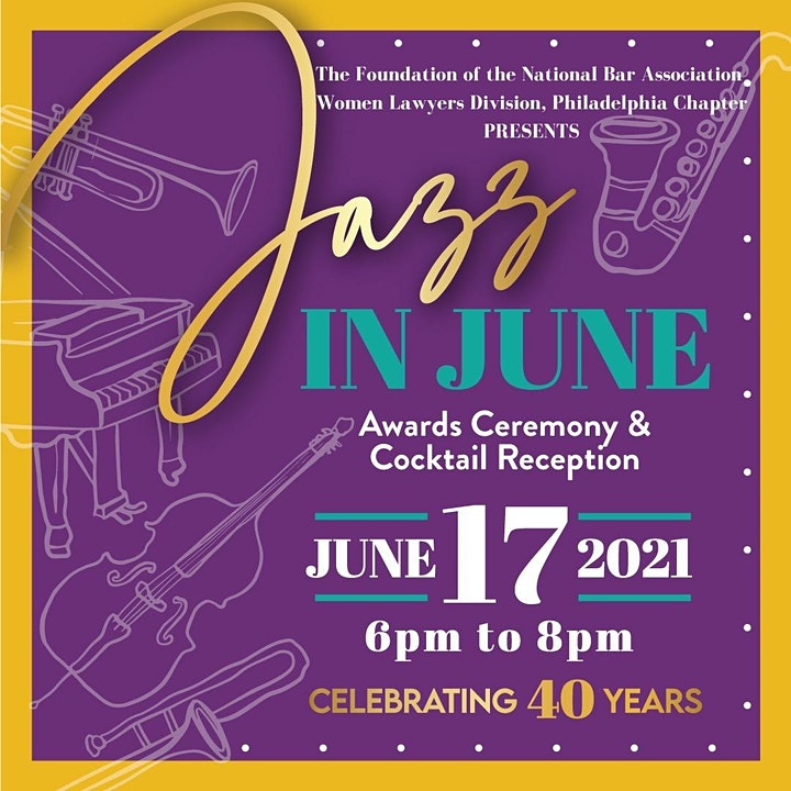 2021 WLD Foundation Jazz in June Awards Ceremony & Cocktail Reception image