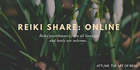 June Reiki share: Online tickets