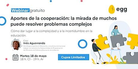 Aportes de la cooperación: la mirada de muchos  puede resolver problemas entradas