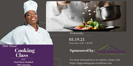 Free Virtual Cooking Class tickets