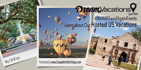 Vacation Inspiration: Exclusive, Hosted US Tours Night tickets