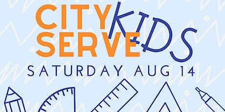 City Serve Kids 2021 tickets